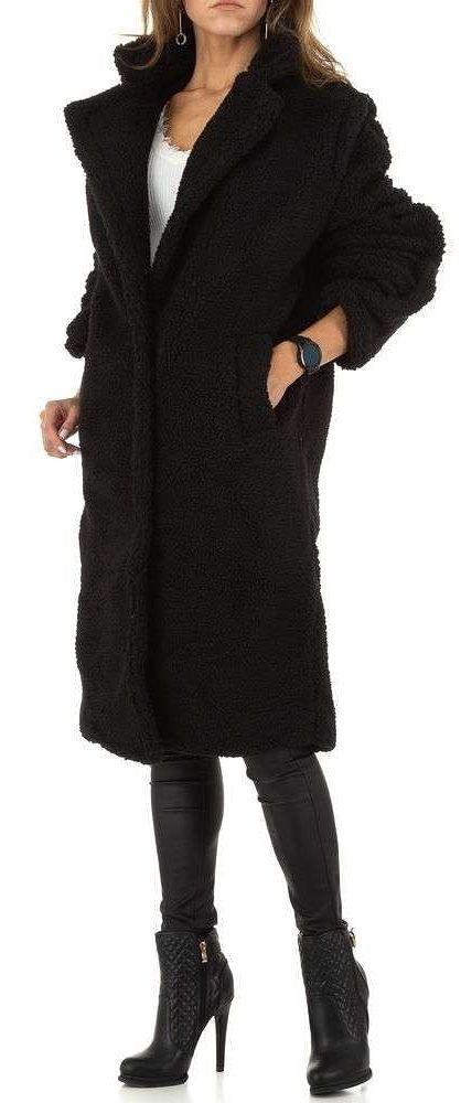 Dámsky teplý kabát Q6496