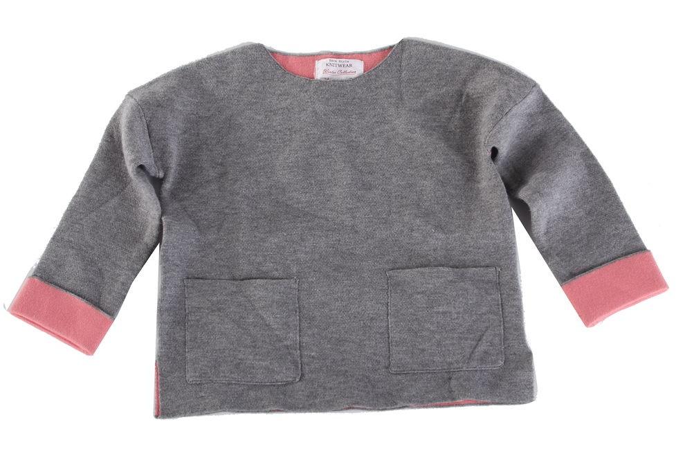 15d6b6bf3 Detský štýlový pulóver Zara X8851 - Detské pulóvre a košele - Locca.sk