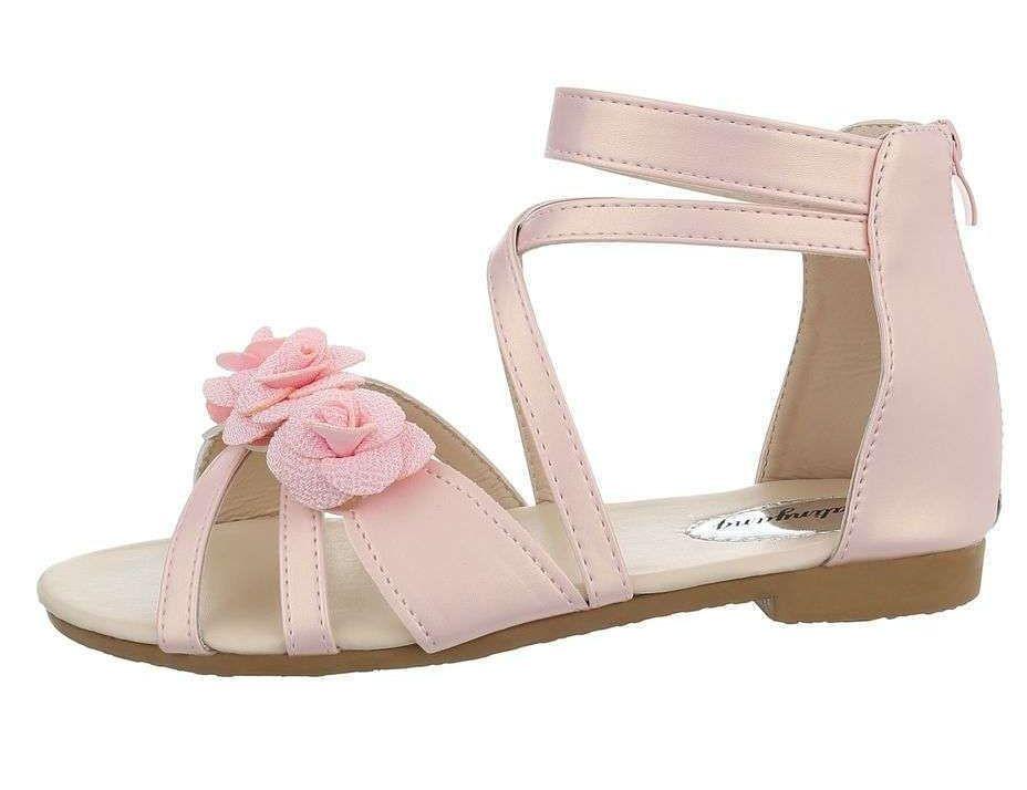 7d6a448fb3c35 Dievčenské letné sandále Q5371 - Detské sandále - Locca.sk