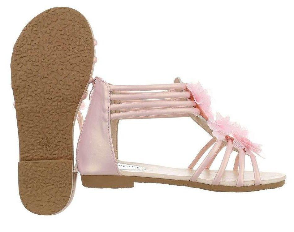 d446fad4fd569 Dievčenské letné sandále Q5373 - Detské sandále - Locca.sk