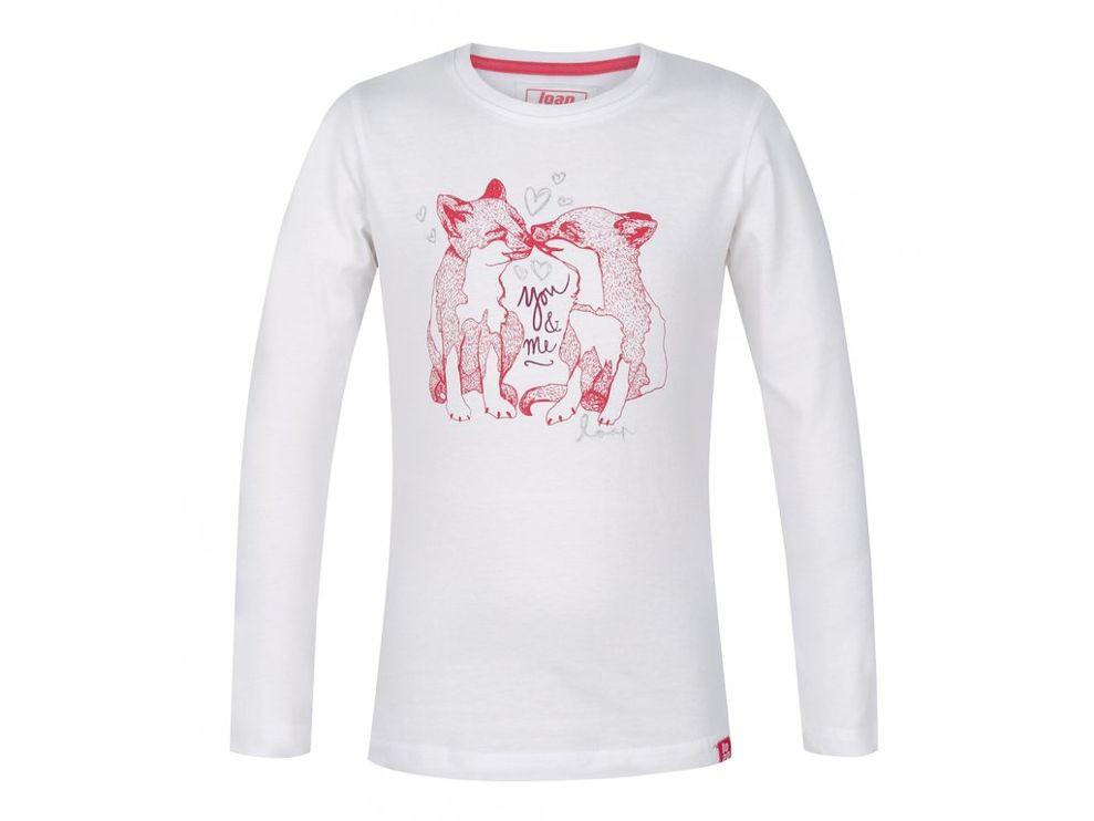 0b5a760755dc Dievčenské tričko s dlhým rukávom Loap G1002 - Dámske tričká - Locca.sk