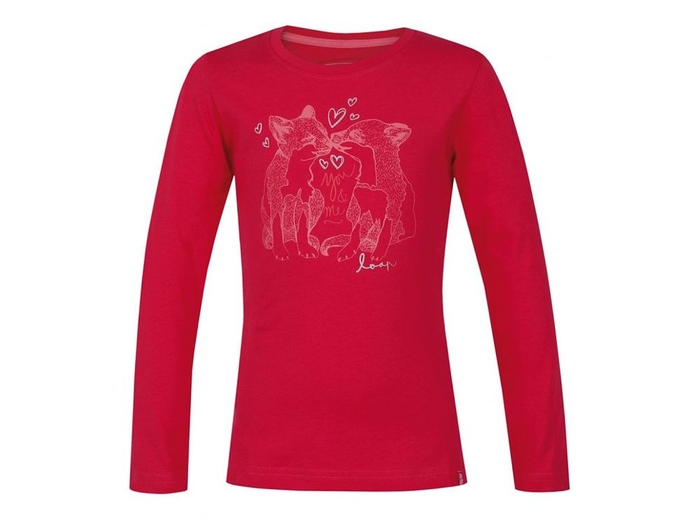 fed897892c7c Dievčenské tričko s dlhým rukávom Loap G1003 - Dámske tričká - Locca.sk