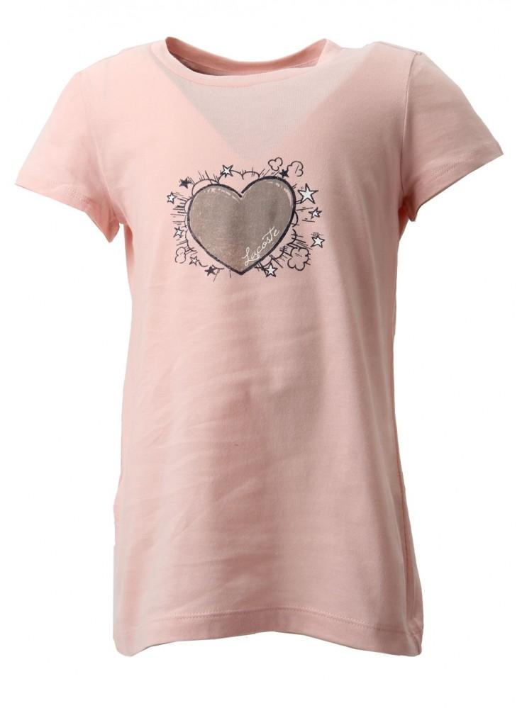 e7919ba590 Dievčenské tričko s krátkym rukávom Lacoste X7136 - Detské tričká ...