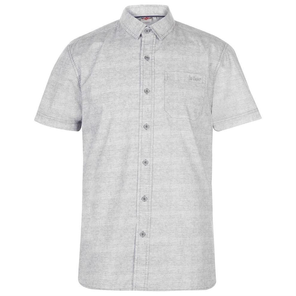 57fcbe19fda7 Pánska bavlnená košeĺa Lee Cooper H3887 - Moderné pánske košele ...