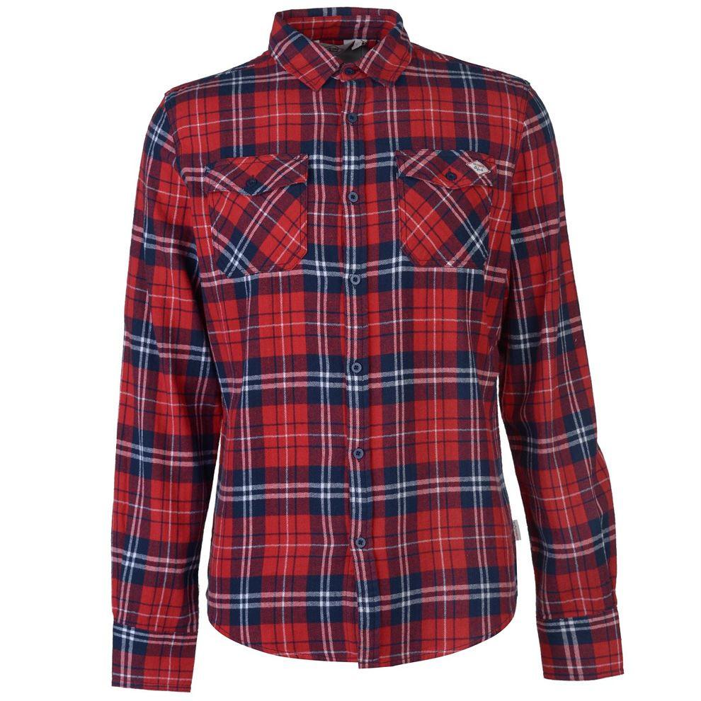 c98fd17bae133 Pánska flanelová košeĺa Lee Cooper H8016 - Pánske kárované košele ...
