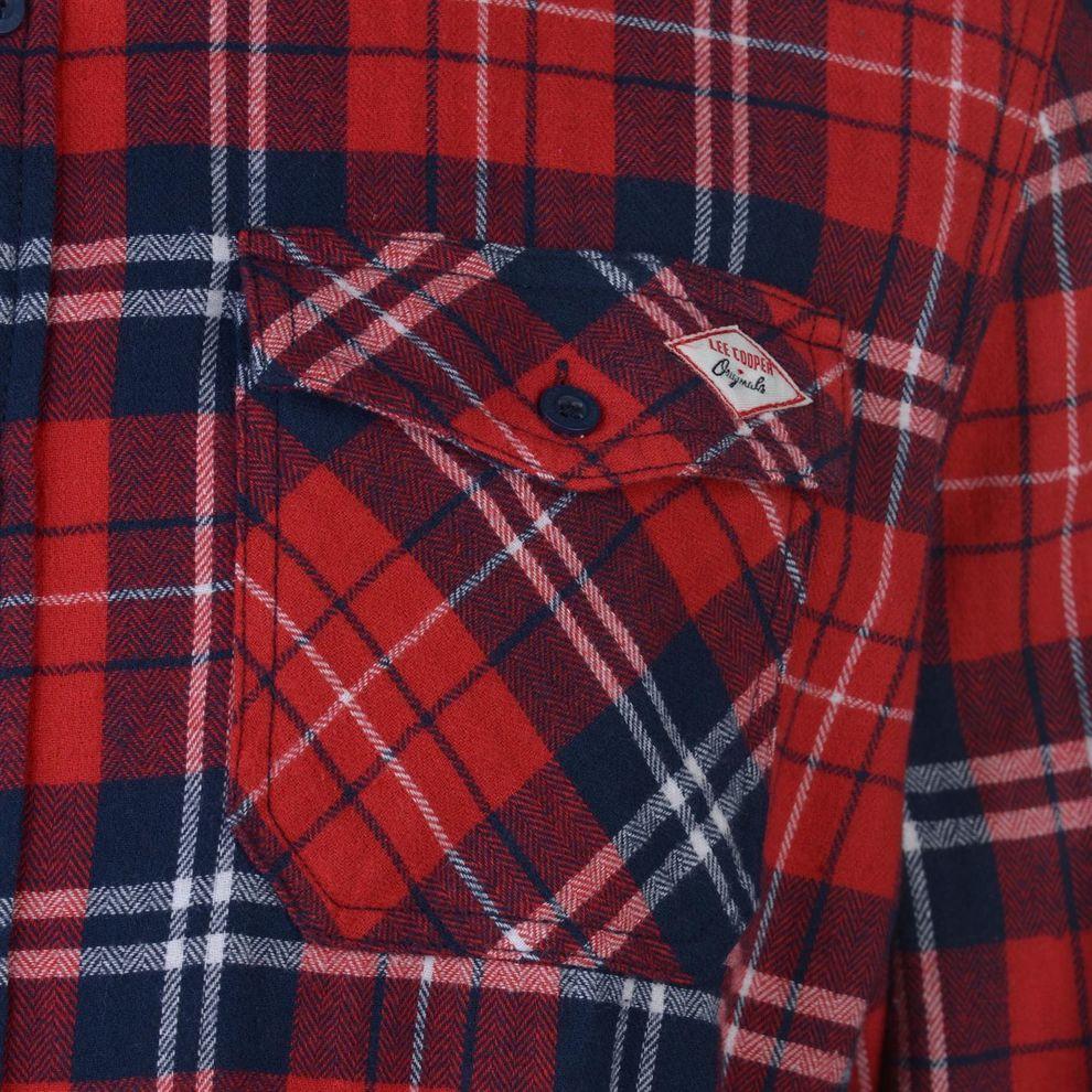 ab67dd4d8 Pánska flanelová košeĺa Lee Cooper H8016 - Pánske kárované košele ...