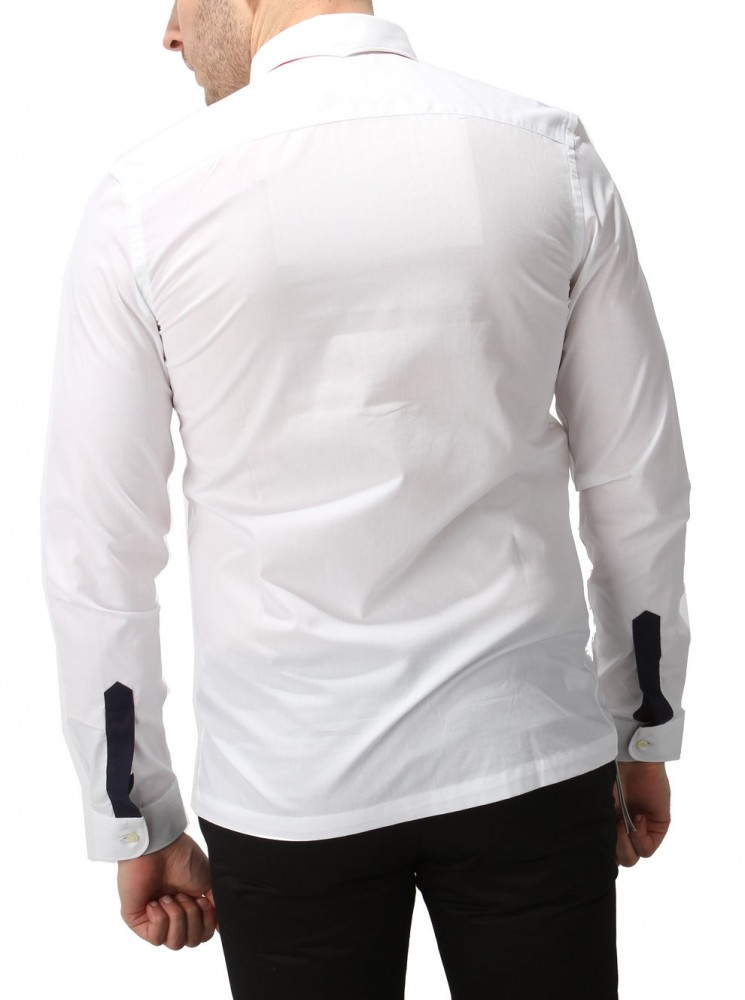 f8eb62788 Pánska košeĺa Lacoste X6816 - Moderné pánske košele - Locca.sk