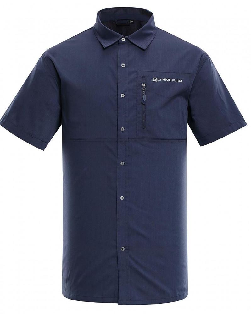 Pánska košeĺa s krátkym rukávom Alpine Pro K1637