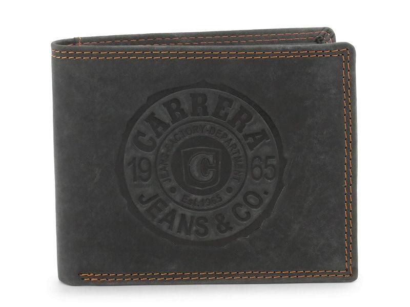 fb110d2f2 Pánska kožená peňaženka Carrera Jeans L2271 - Pánske peňaženky ...