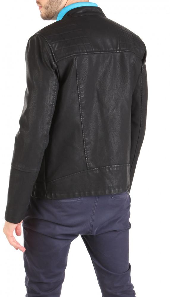 Pánska koženková bunda New Look W1263 - Pánske jarné bundy - Locca.sk 0b6136634d1