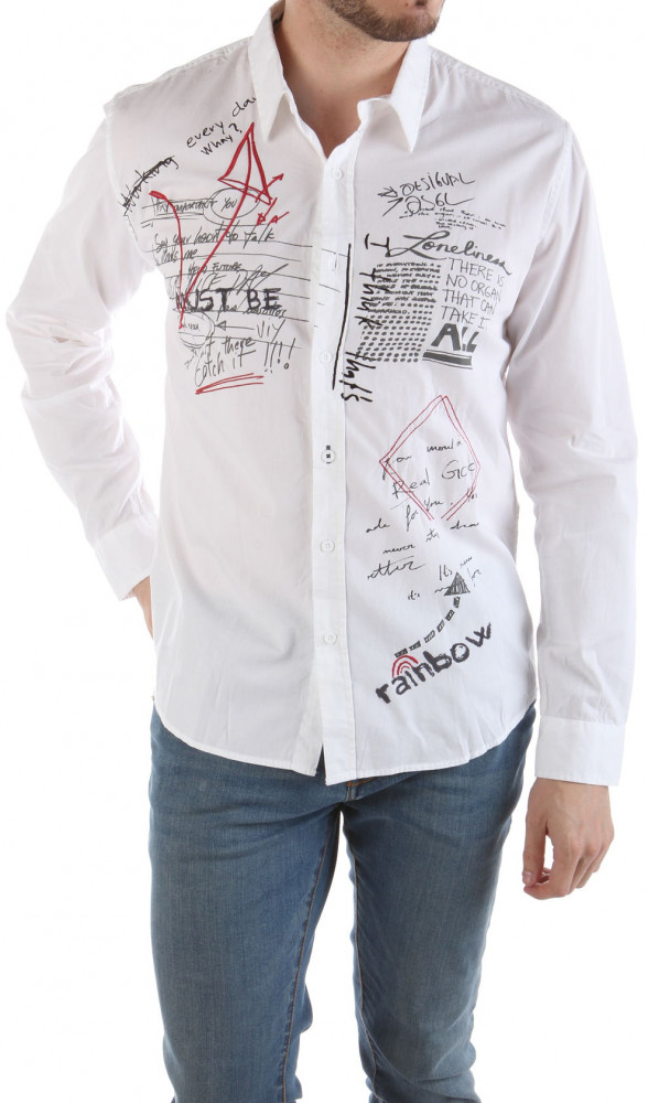 Pánska módna košeĺa Disegual W2026