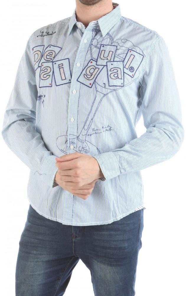 Pánska štýlová kašile Desigual W2185