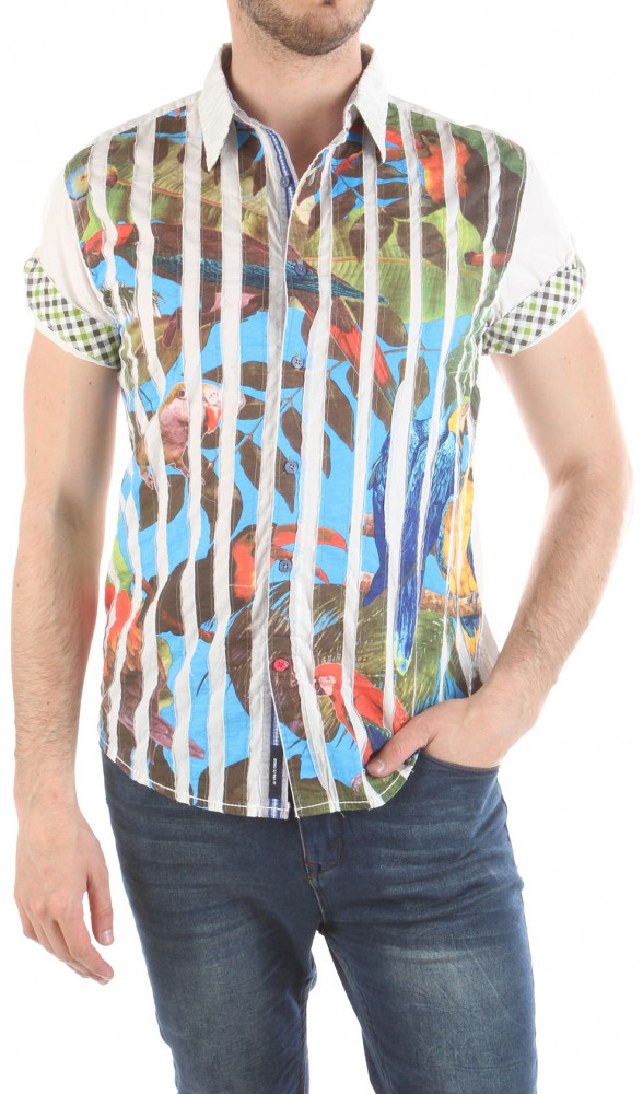 Pánska štýlová košeĺa Desigual W2216
