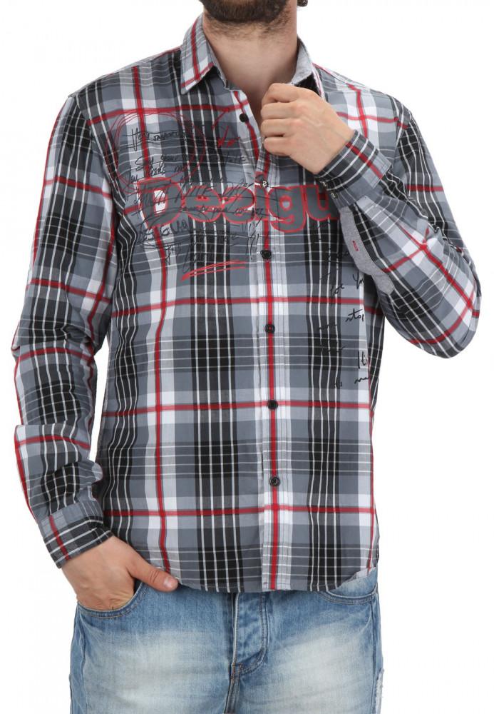 7ed9ba68b7ef Pánska štýlová košeĺa Desigual X2099 - Moderné pánske košele - Locca.sk