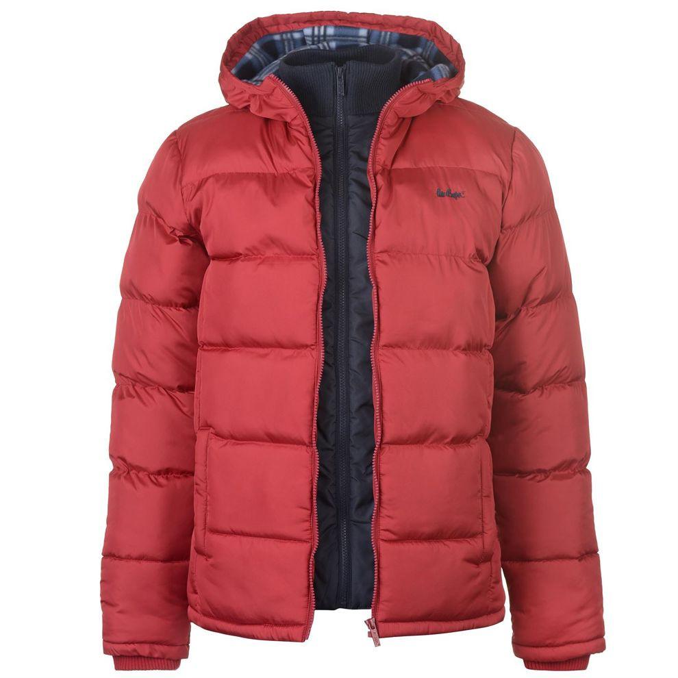 Pánska zimná bunda Lee Cooper H6818