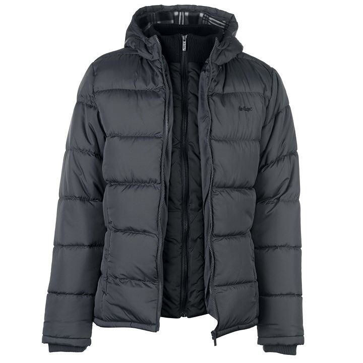 bb75b57e4173 Pánska zimná bunda Lee Cooper H7713 - Pánske bundy - Locca.sk