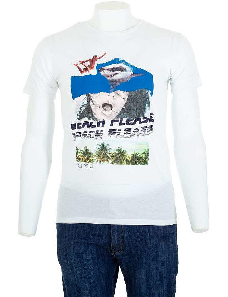 Pánske bavlnené tričko Glo Story I8154