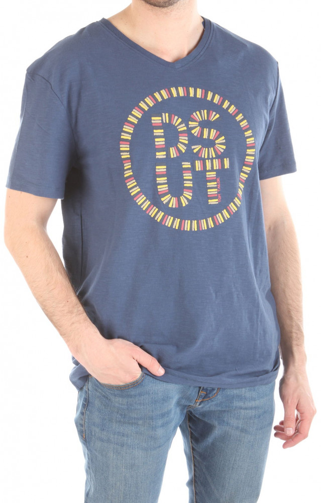 44b16b73a5d5 Pánske bavlnené tričko Tom Tailor W2167 - Pánske tričká s krátkym ...