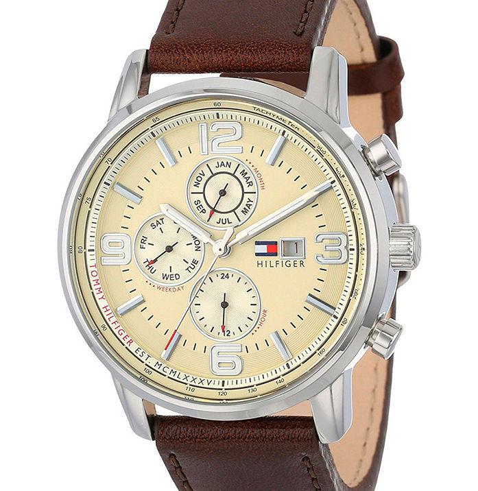 66ce9ba17 Pánske elegantné hodinky Tommy Hilfiger L1968 - Pánske hodinky ...