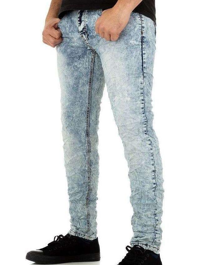 Pánske jeansové nohavice Q6335
