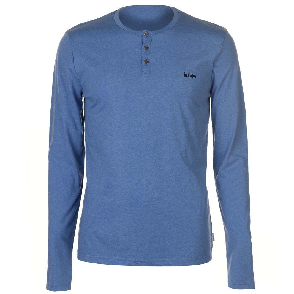 b3f5ac7c7d43 Pánske módne tričko s dlhým rukávom Lee Cooper H6540 - Pánske tričká ...