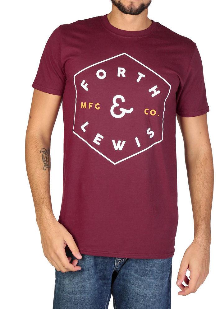 ca23eb593f0f Pánske štýlové tričko Forth   Lewis L1750 - Pánske tričká s krátkym ...