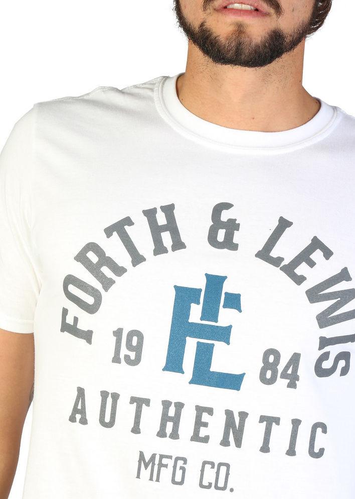 77f34c331863 Pánske štýlové tričko Forth   Lewis L1761 - Pánske tričká s krátkym ...
