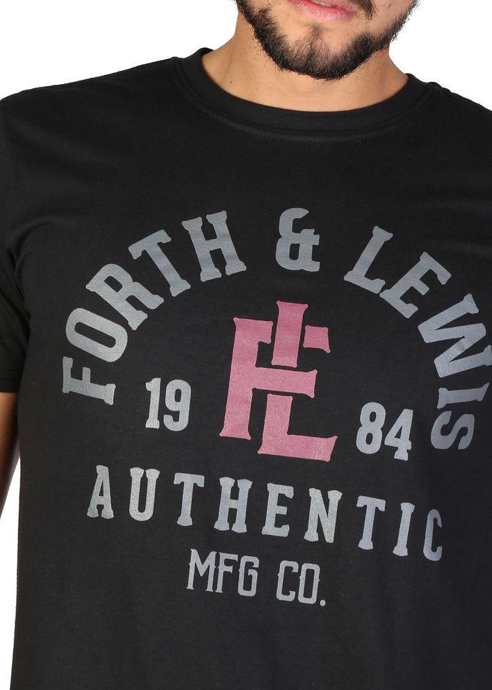 6b39de3a8f93 Pánske štýlové tričko Forth   Lewis L1762 - Pánske tričká s krátkym ...