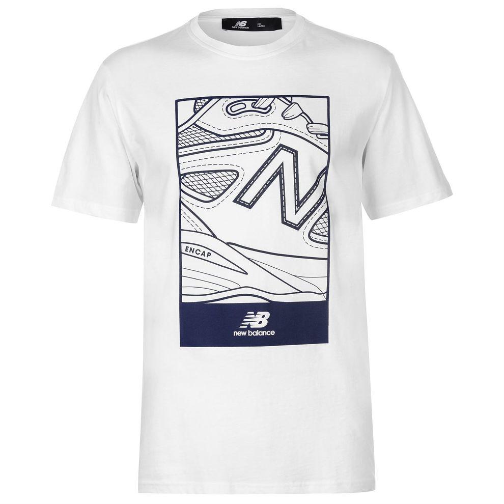 Pánske štýlové tričko New Balance H4846 - Pánske tričká s krátkym ... bfa9a33c18
