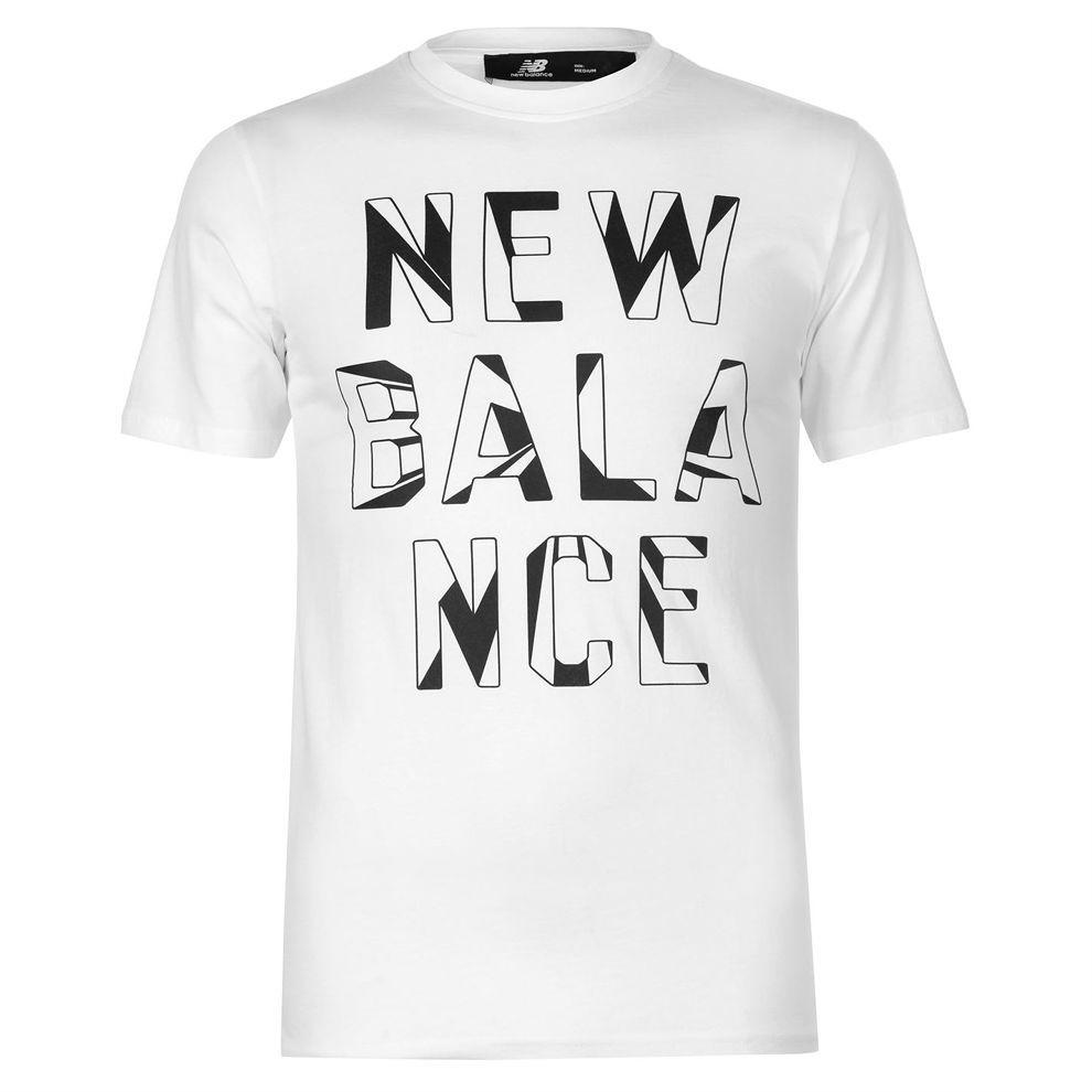 Pánske štýlové tričko New Balance H4852 - Pánske tričká s krátkym ... 6eb7875547