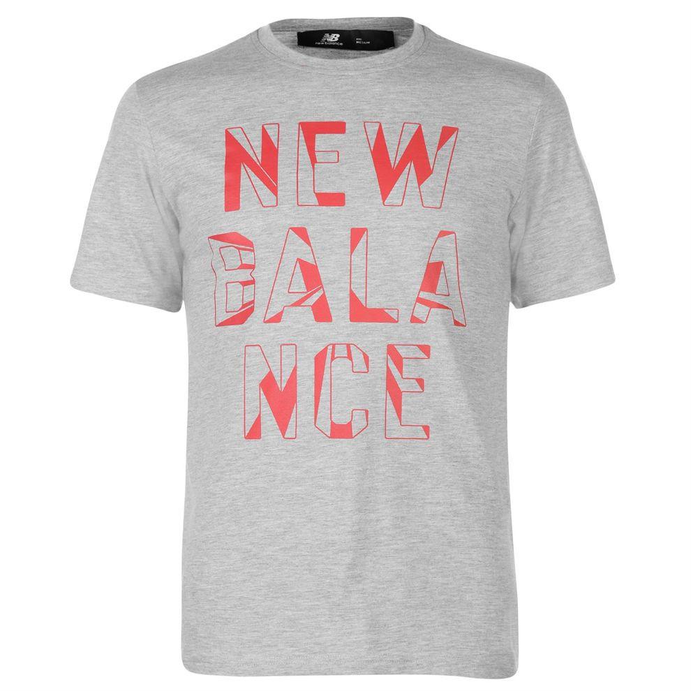 Pánske štýlové tričko New Balance H4853 - Pánske tričká s krátkym ... b0f9888745