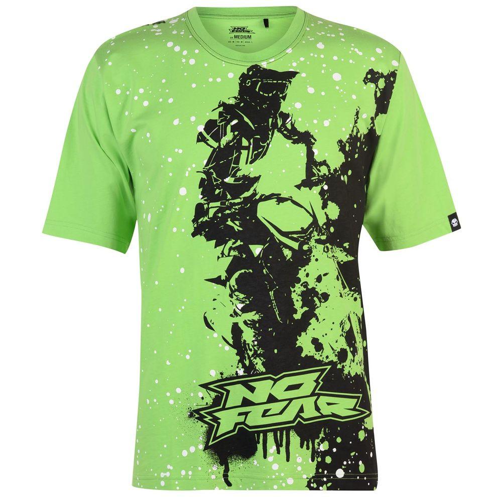 005341d14b Pánske štýlové tričko No Fear H8486 - Pánske tričká s krátkym ...