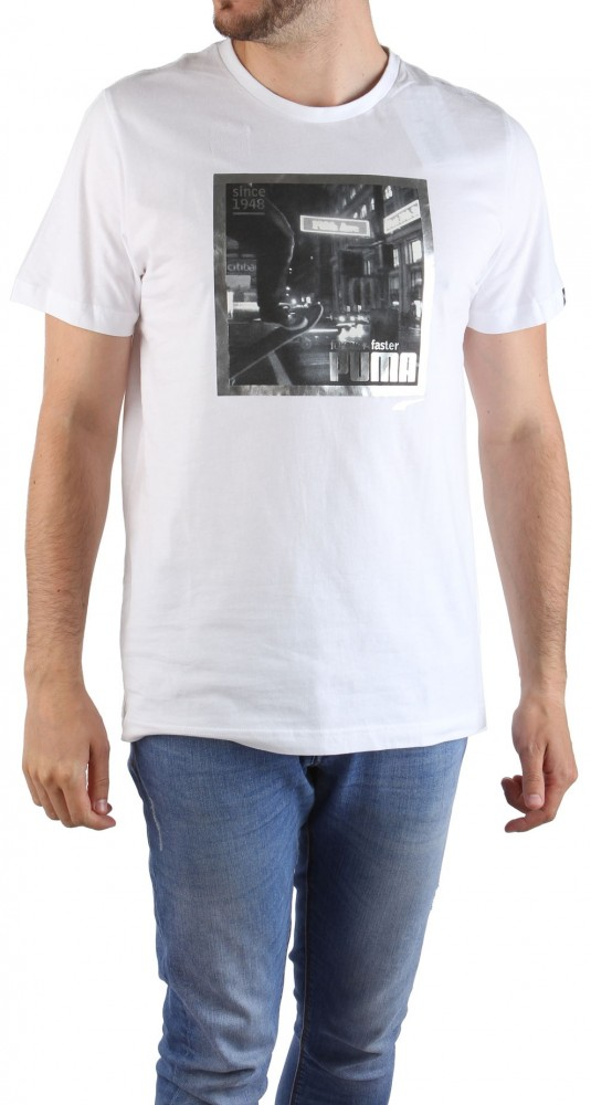 Pánske štýlové tričko Puma DRY X8991 - Pánske tričká s krátkym ... f064686adee