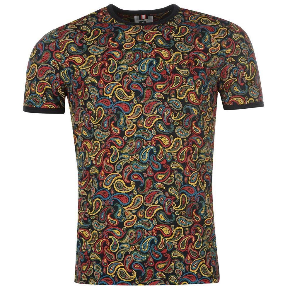 Pánske štýlové tričko Soviet H8830