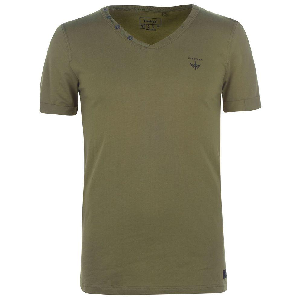 Pánske tričko Firetrap J4490