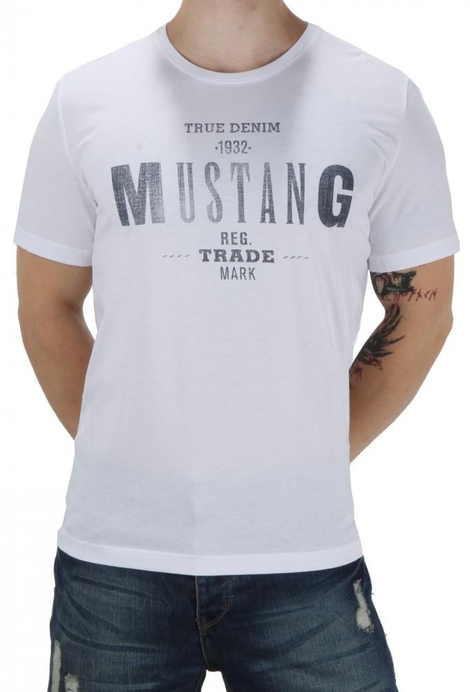 80551acf9982 Pánske tričká s krátkym rukávom · Pánske tričko Mustang X3484. Pánske  tričko Mustang X3484  1