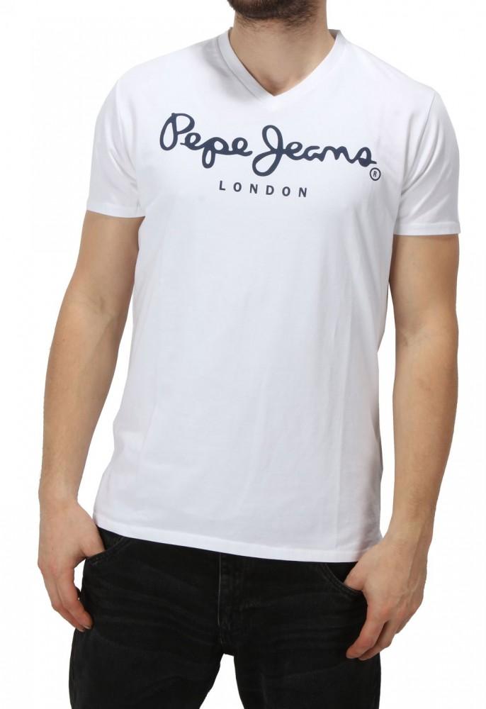 9c7d10b51b34 Pánske tričko Pepe Jeans X6623 - Pánske tričká - Locca.sk