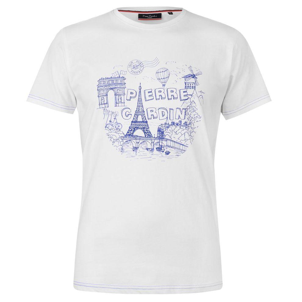 6320280df704 Pánske tričko Pierre Cardin H5324 - Pánske tričká s krátkym rukávom ...