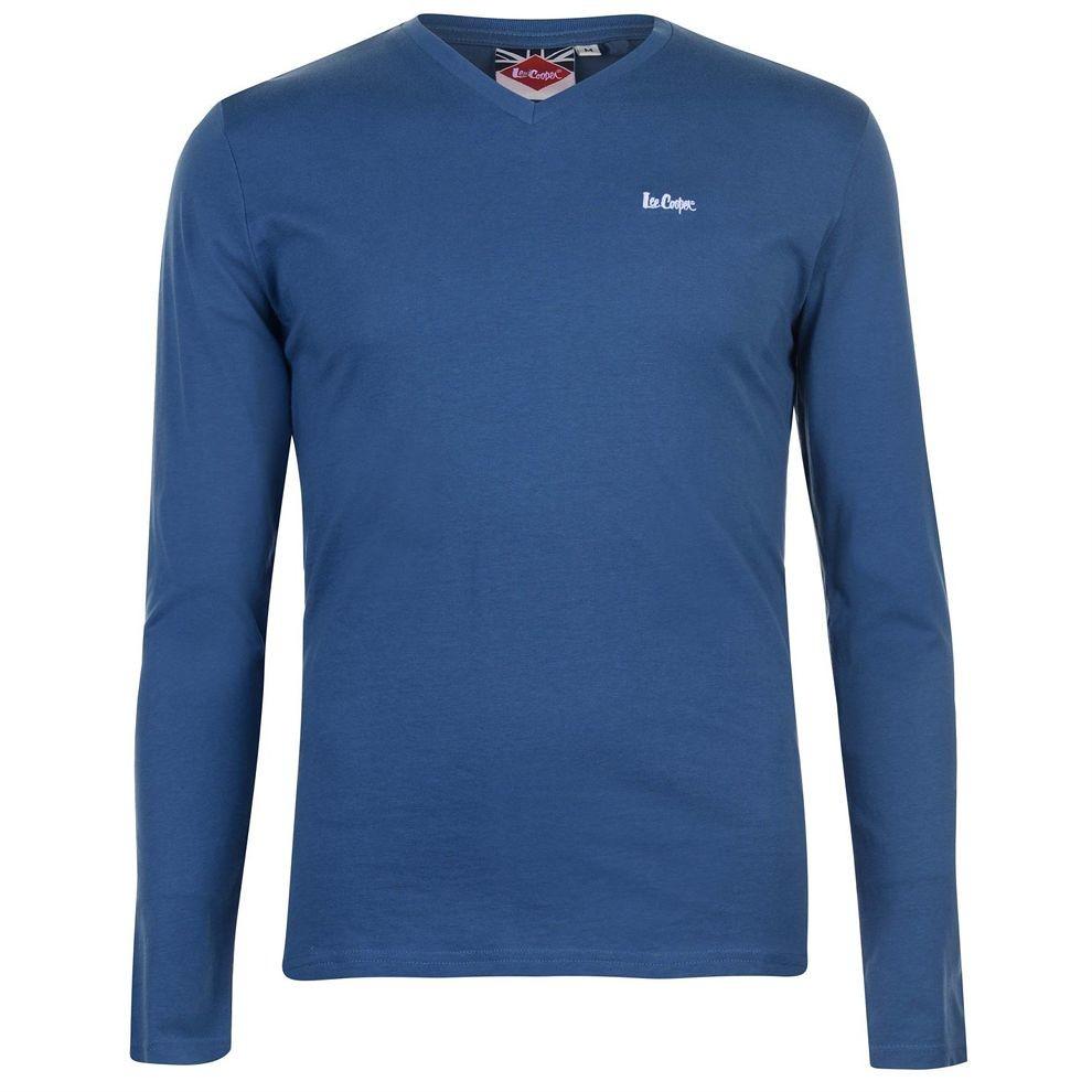 42cea506a50f3 Pánske tričko s dlhým rukávom Lee Cooper H3018 - Pánske tričká s ...