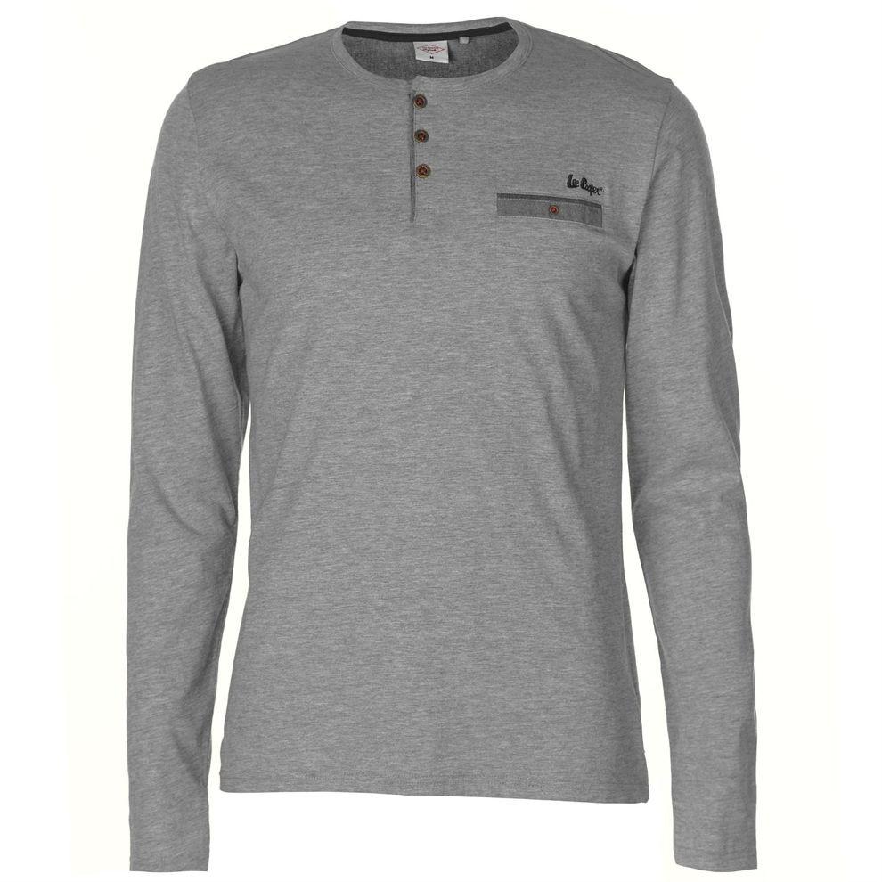 4c5422ad3429 Pánske tričko s dlhým rukávom Lee Cooper H6452 - Pánske tričká s ...