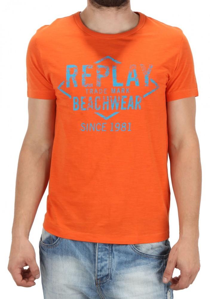 68213ad2beb9 Pánske tričko s potlačou Replay X5314 - Pánske tričká - Locca.sk