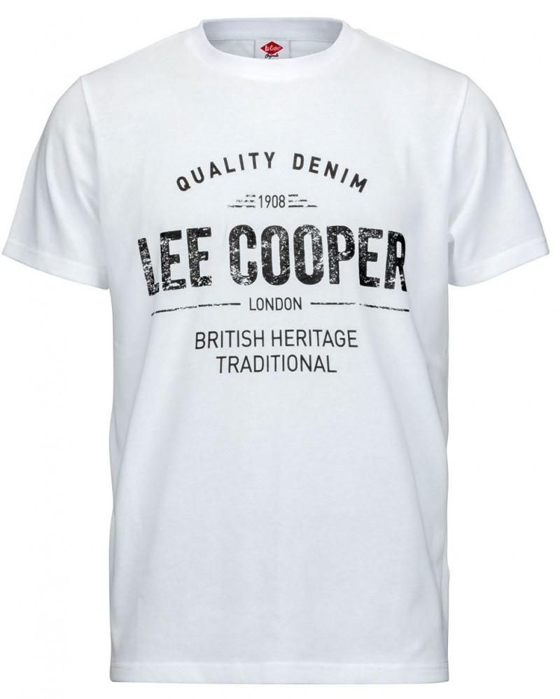 b198b6ee9 Pánske voĺnočasové tričko Lee Cooper H1819 - Pánske tričká - Locca.sk