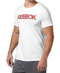 b9d6d3efdbb7 Pánske voĺnočasové tričko Reebok A1077 - Pánske tričká s krátkym ...