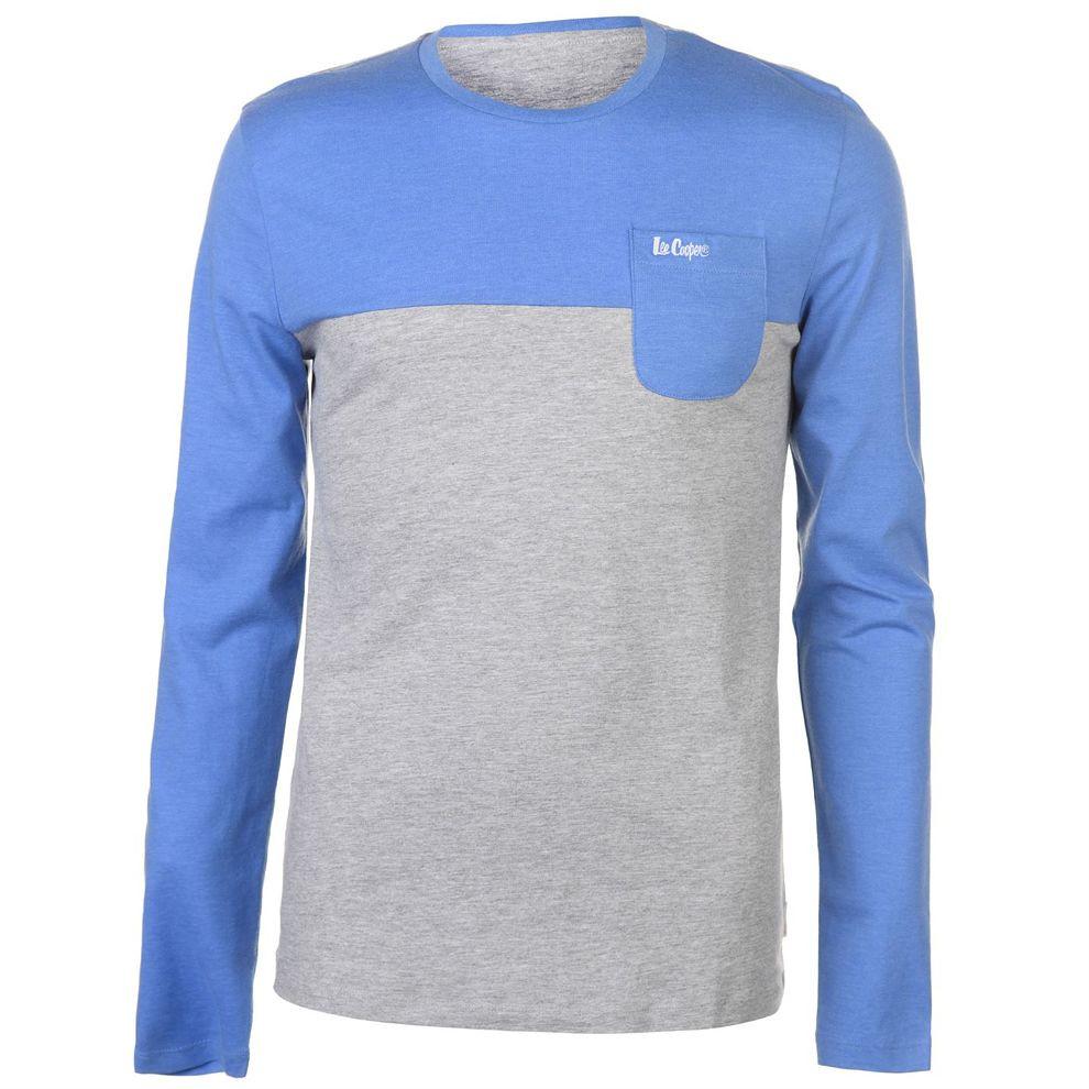 5712290bb33c Pánske voĺnočasové tričko s dlhým rukávom Lee Cooper H6530 - Pánske ...