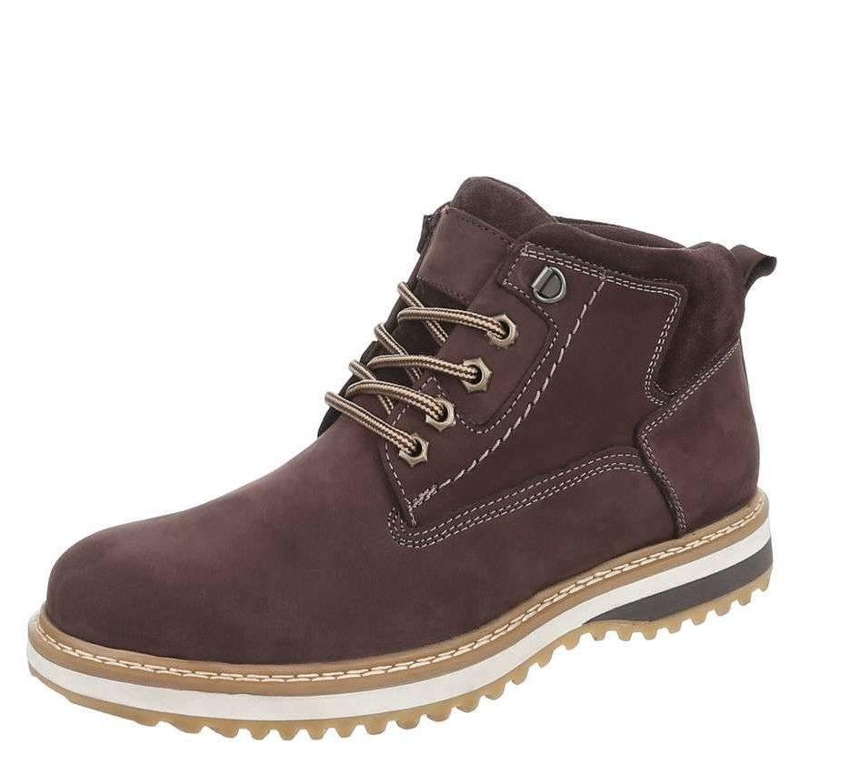 e6cbadca8e6b Pánske zimné topánky Coolwalk Q0088 - Pánske kožené topánky - Locca.sk