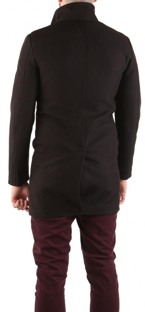 daa7110086 Panský čierny kabát Zara X8844 - Pánske kabáty - Locca.sk