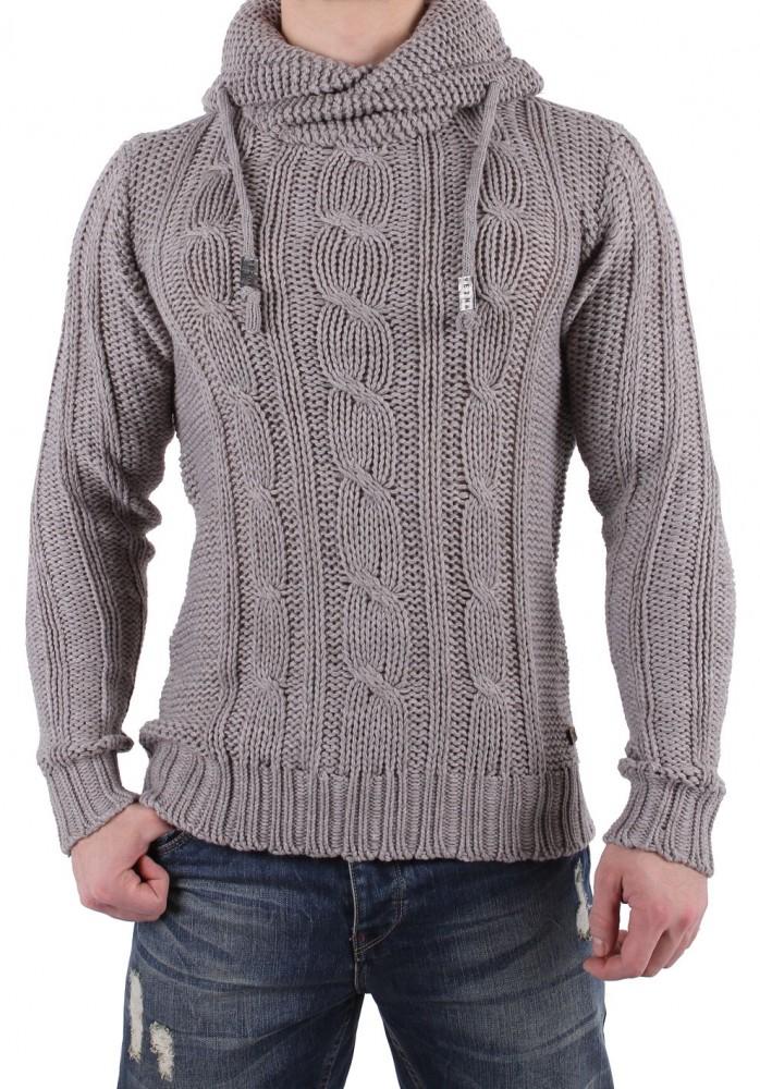 d7d500107e52 Pánsky pletený pulóver Eight2nine T1596 - Pánske svetre a pulóvre ...
