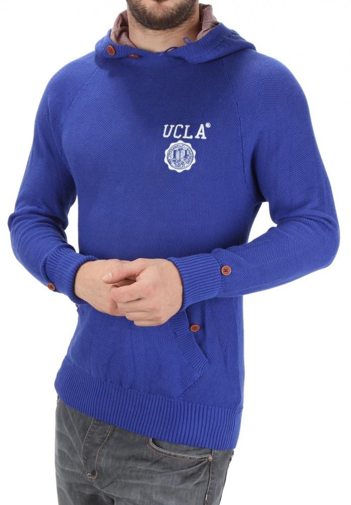 d6e4be8b60b5 Pánsky štýlový pulóver UCLA X6005 - Pánske svetre a pulóvre - Locca.sk