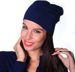 Jersey čiapka tmavo modrá