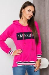 Mikina AMAZING pink